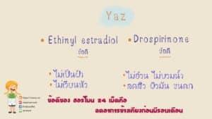 ยาคุม yaz